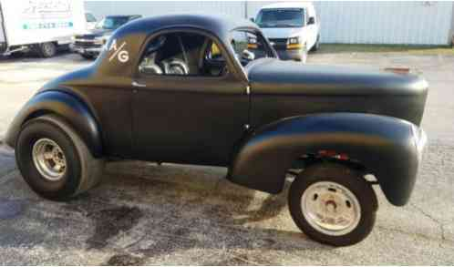 Willys 1941 Willy S Steel Body With Fiberglass Nose This