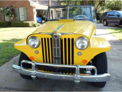 1948 Willys Deluxe Jeepster