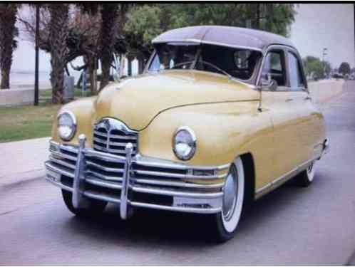 Packard Standard Eight has all (1949)