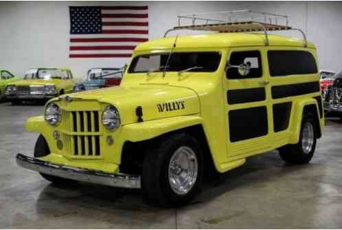 1950 Willys Panel Delivery --