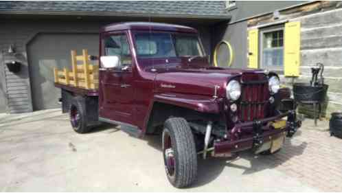 1953 Willys 439 WOOD STAKEBODY