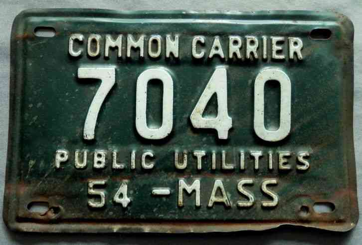 Ma Car Registration: 1925 Massachusetts Vehicle License Plate