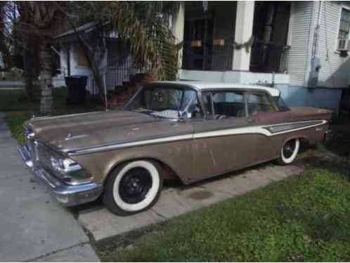 1959 Edsel Corsair Near perfect exterior trim