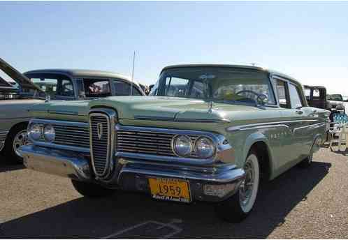 Edsel Ranger 1959 4dr Sedan 223 6 With Standard Trans
