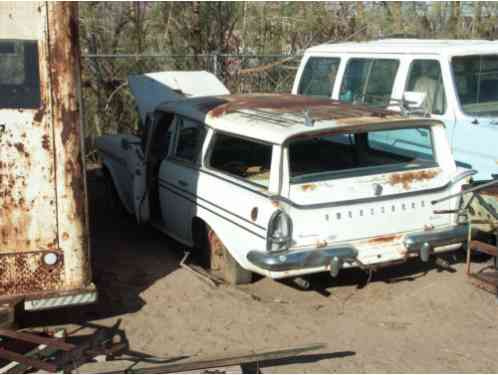 1960 Nash Ambassador Super Cross Country Wagon