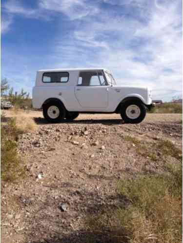 1962 International Harvester Scout base