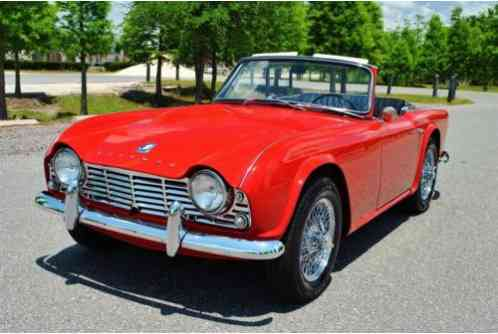 Triumph TR4 Roadster Superb Show (1962)