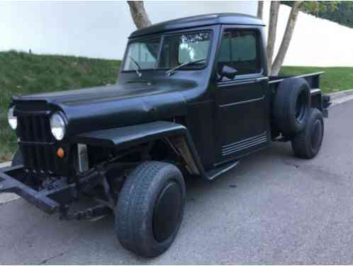1963 Willys Custom Hot Rod Pick Up