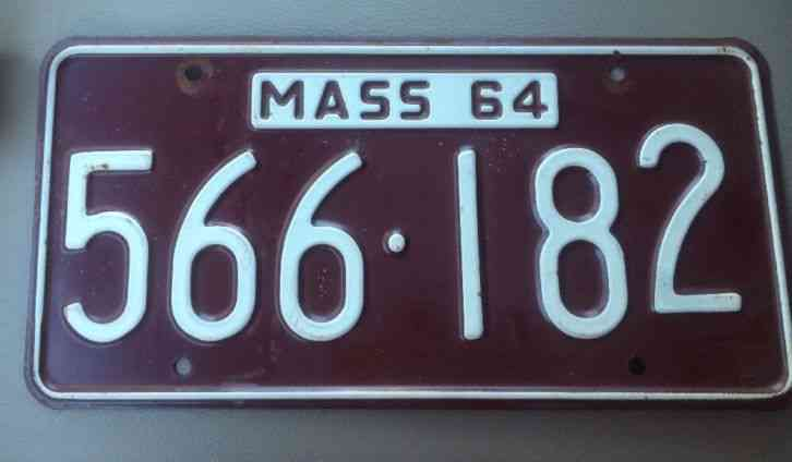 1928 massachusetts codfish license plate 28 ma cod fish for Michigan fishing license prices