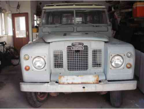 Land Rover series 2a (1969)
