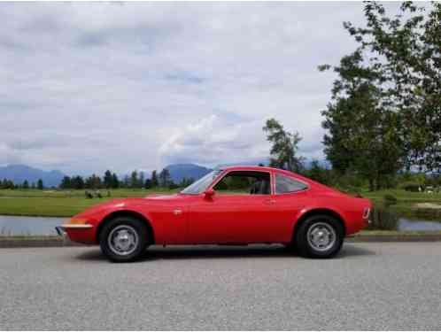 opel gt coupe 2 door 1969 up for sale low kms only 48 500 original km. Black Bedroom Furniture Sets. Home Design Ideas