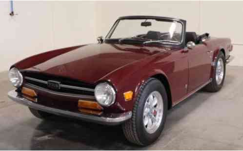 Triumph TR6 with overdrive -- (1972)