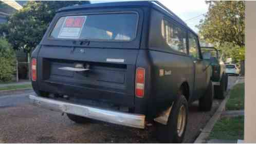 International Harvester Scout 2 Door 1974 Attention