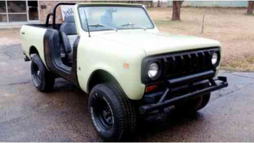 International Harvester Scout (1974)