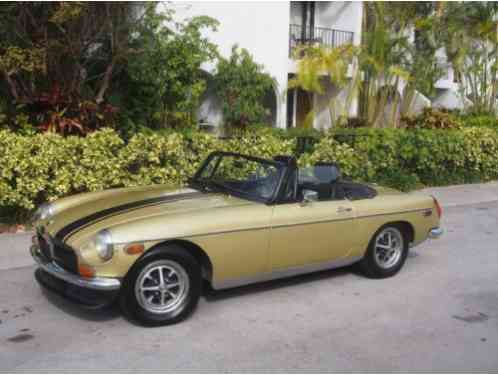 1974 MG MGB MANUAL 4 SPEED