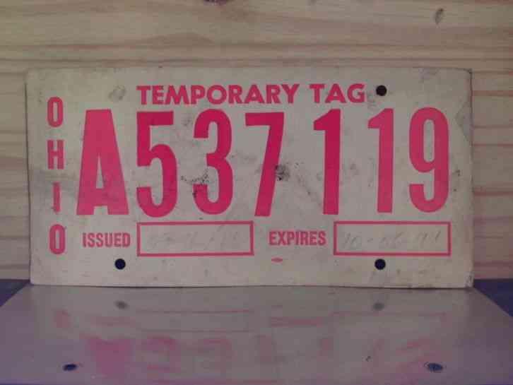 kentucky 1990 license plate bkb 844 ohio county horse. Black Bedroom Furniture Sets. Home Design Ideas
