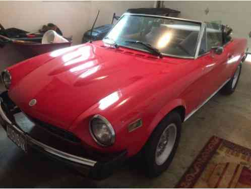 Fiat Other 1976 Spider 124 I Ve Owned This Car For 15
