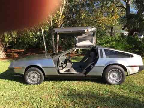1981 DeLorean DMC 10 Stainless