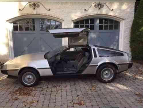 1982 DeLorean DMC-12 Only 9200 Original Miles