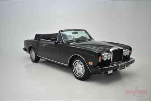 1987 Bentley Continental --