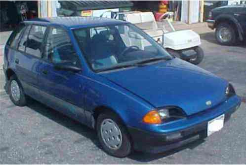 geo metro 1991 this is a home built all electric car a that has been. Black Bedroom Furniture Sets. Home Design Ideas