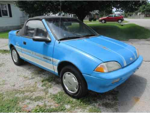 geo metro convertible 1991 for sale a lsi in excellent mechanical. Black Bedroom Furniture Sets. Home Design Ideas