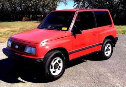 geo tracker hardtop 4x4 1995 automatic miles 189 510 vin car for sale. Black Bedroom Furniture Sets. Home Design Ideas