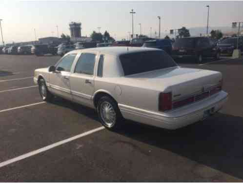 Lincoln Town Car cartier (1997)