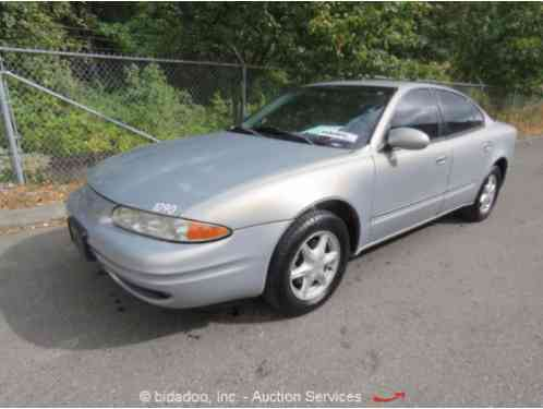 1999 Oldsmobile Alero GL Sedan 4-Door