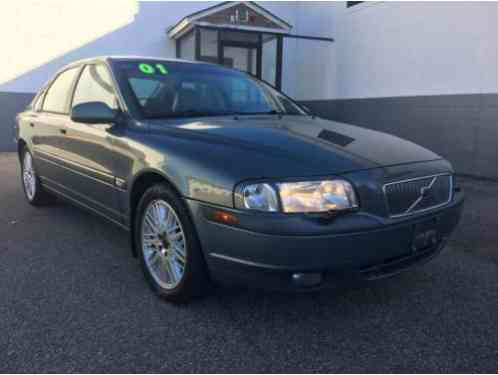 volvo s80 t6 sedan 4 door 2001 up for auction is a this. Black Bedroom Furniture Sets. Home Design Ideas