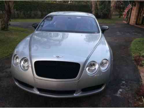 2004 Bentley Continental GT W12 AWD 2 door coupe