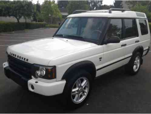 Land Rover Discovery SE (2004)