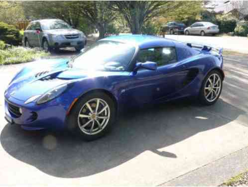 lotus elise supercharged touring pack 2005 with 26 674 miles or a. Black Bedroom Furniture Sets. Home Design Ideas
