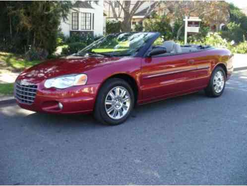 Chrysler Sebring RED (2006)