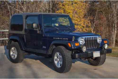 jeep wrangler rubicon price reduced 2006 garagekept. Black Bedroom Furniture Sets. Home Design Ideas