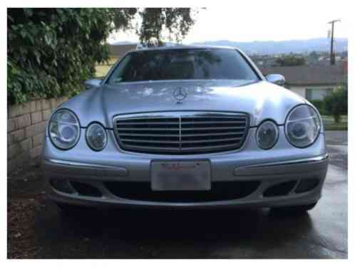 mercedes benz e class cdi sedan 4 door 2006 rare mercedes e320 diesel. Black Bedroom Furniture Sets. Home Design Ideas