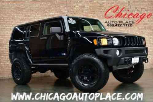 2007 Hummer H3 SUV - 1 OWNER 4WD OFF ROAD TIRES LIFTED SUSPENSION