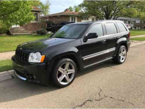 jeep grand cherokee 2007 for sale srt8 like new out and. Black Bedroom Furniture Sets. Home Design Ideas