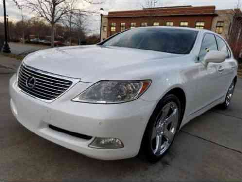 Lexus LS Luxury Sedan 8-Speed (2007)