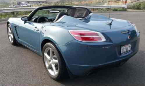 saturn sky red line 2007 123 901 miles bluestone convertible 4. Black Bedroom Furniture Sets. Home Design Ideas