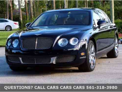 2008 Bentley Continental Flying Spur --
