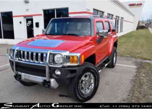 Hummer H3 SUV LUXURY 4WD 5. 3L H3 (2008)