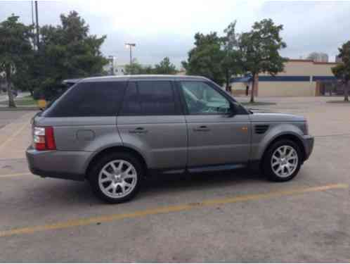 Land Rover Range Rover Sport HSE (2008)