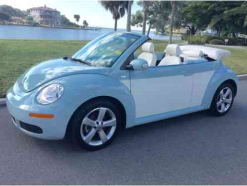 Volkswagen Beetle New Final Edition Convertible 2010 Up