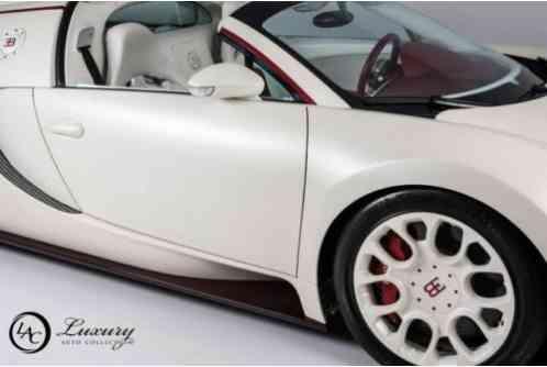 bugatti veyron grand sport fresh service new tires celebrit 2011. Black Bedroom Furniture Sets. Home Design Ideas