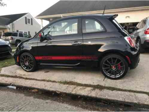 fiat 500 abarth 2012 165hp stock highway miles never abused car for sale. Black Bedroom Furniture Sets. Home Design Ideas