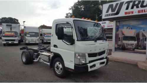 2012 Mitsubishi Fuso FE125 Cab 'n Chassis Ideal for Dump Truck