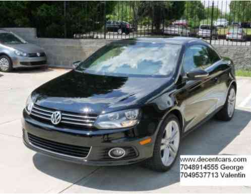 volkswagen eos lux convertible 2 door 2012 for sale is. Black Bedroom Furniture Sets. Home Design Ideas