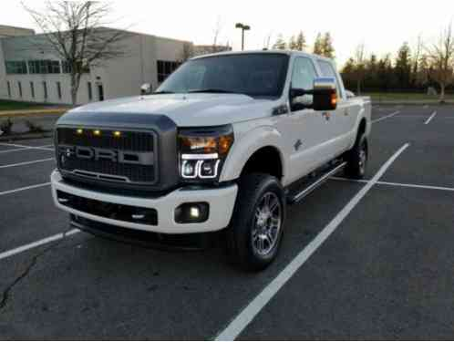 2013 Ford F-250 Platinun