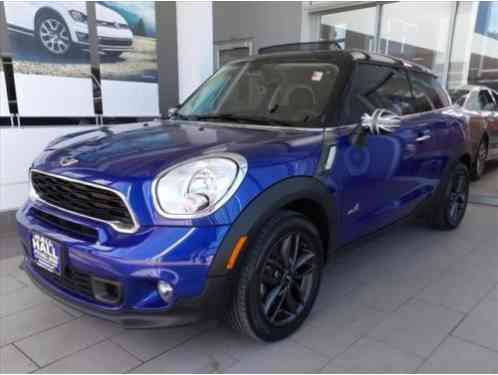 Mini Paceman AWD 2DR S ALL4 (2013)